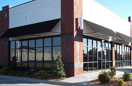 Commercial window tinting services in the Peachtree City area.